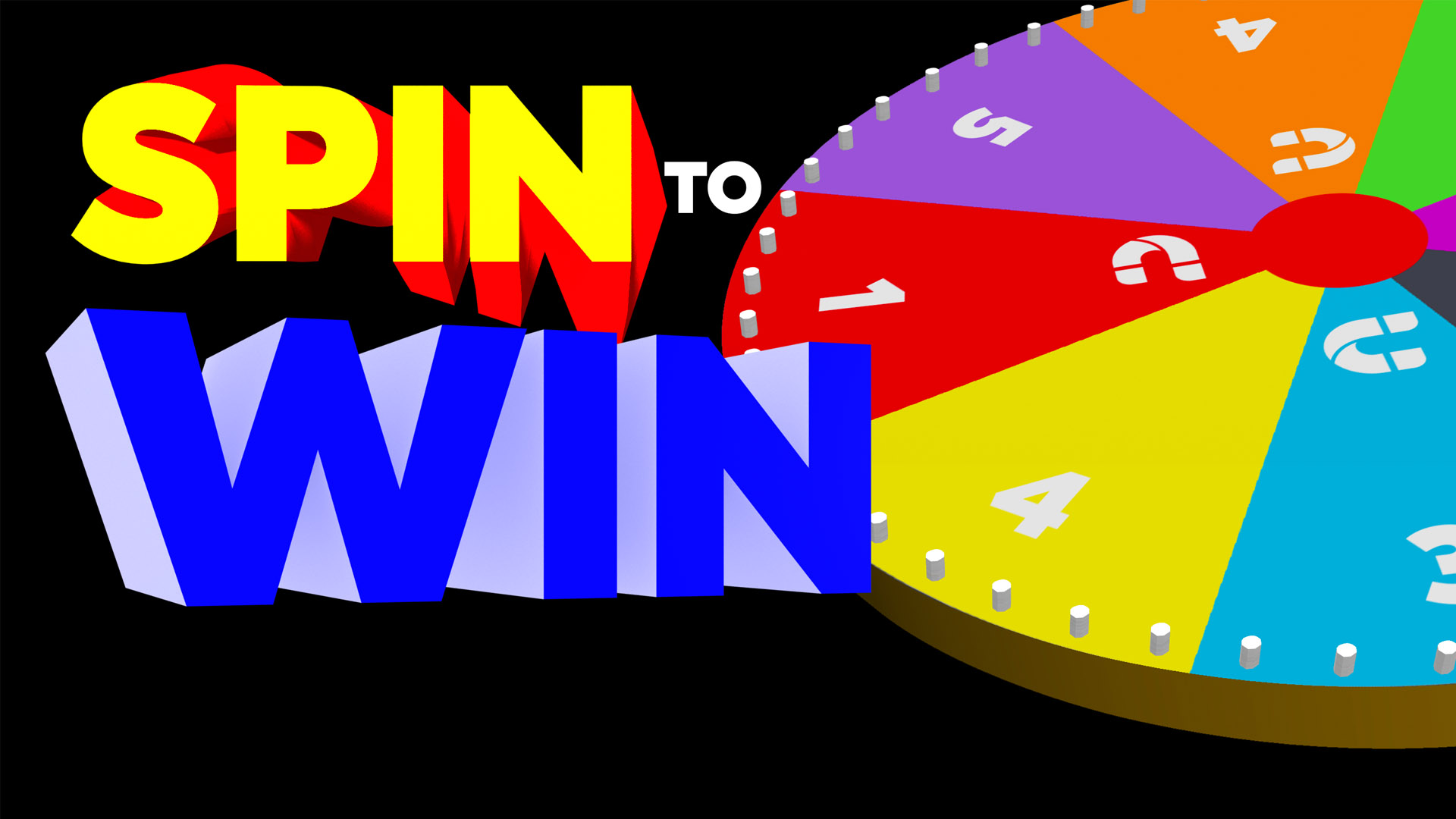 Trade Show Event Activation Spin to Win