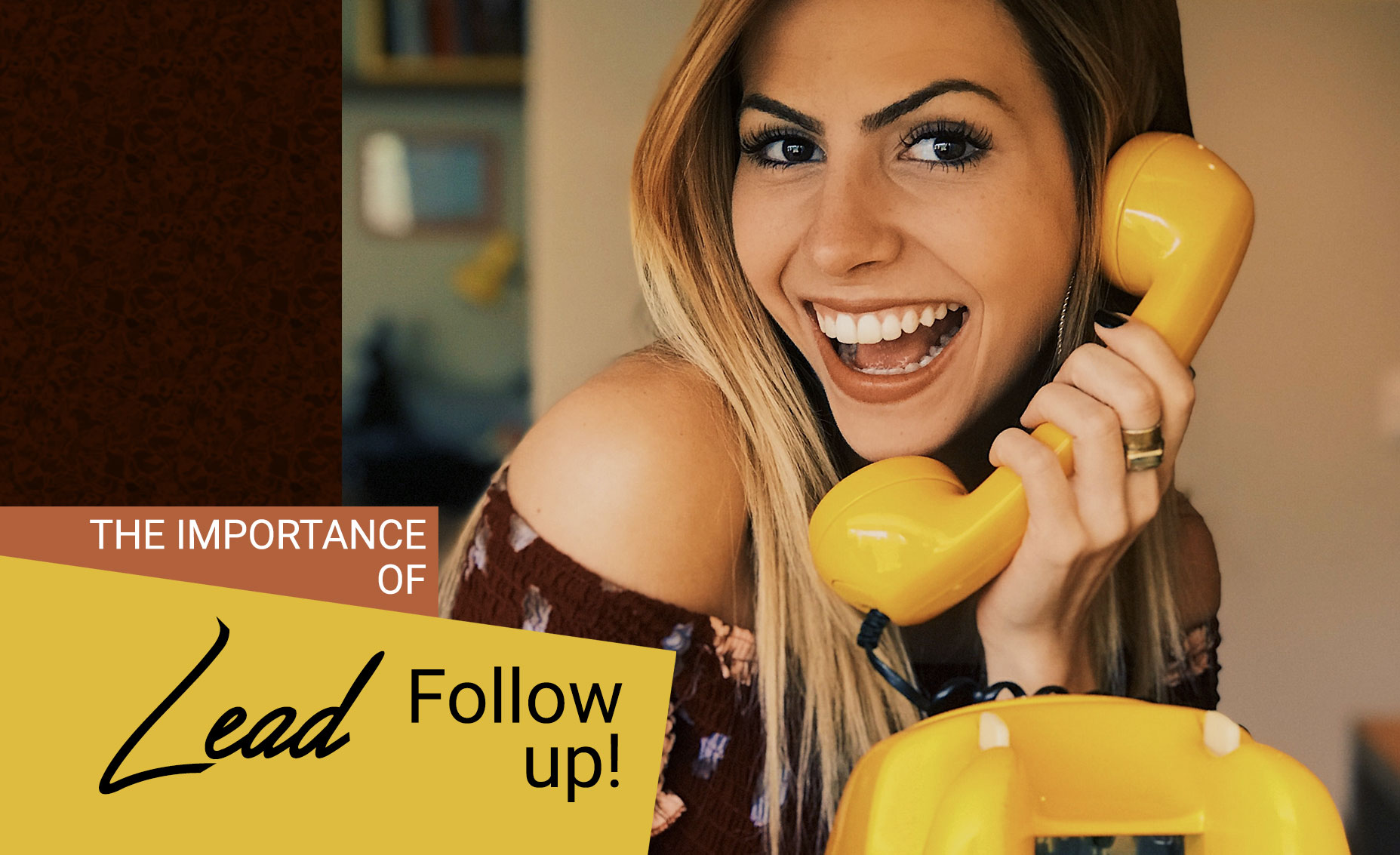 Lead follow-up is crucial, so it's important to know exactly what you are getting with your provider. Make sure you understand the types of follow-up that they can provide and when they can provide it. Make sure you can personalize your follow-up.