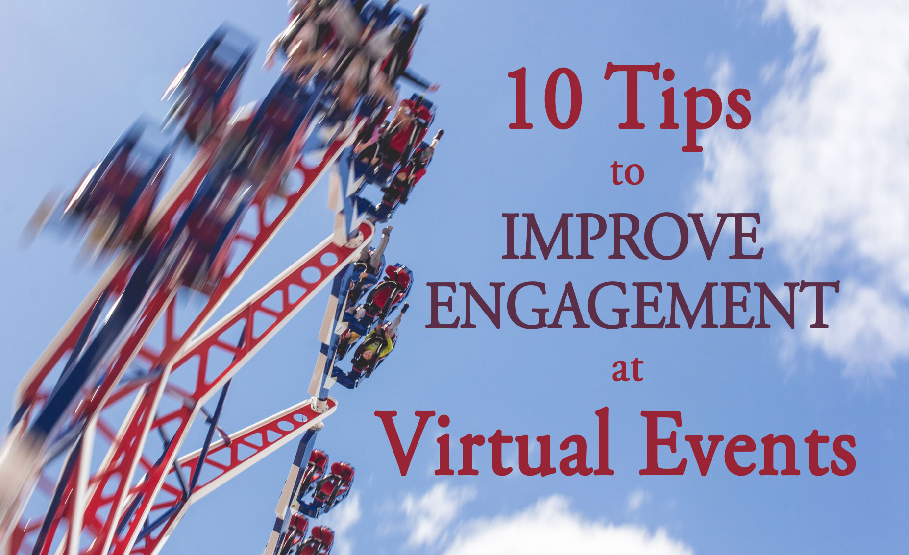 Whether you're an event organizer, or an exhibitor, if you're involved in a virtual event it's essential that you drive as much engagement as possible. Here are 10 tips to improve engagement at your virtual events...