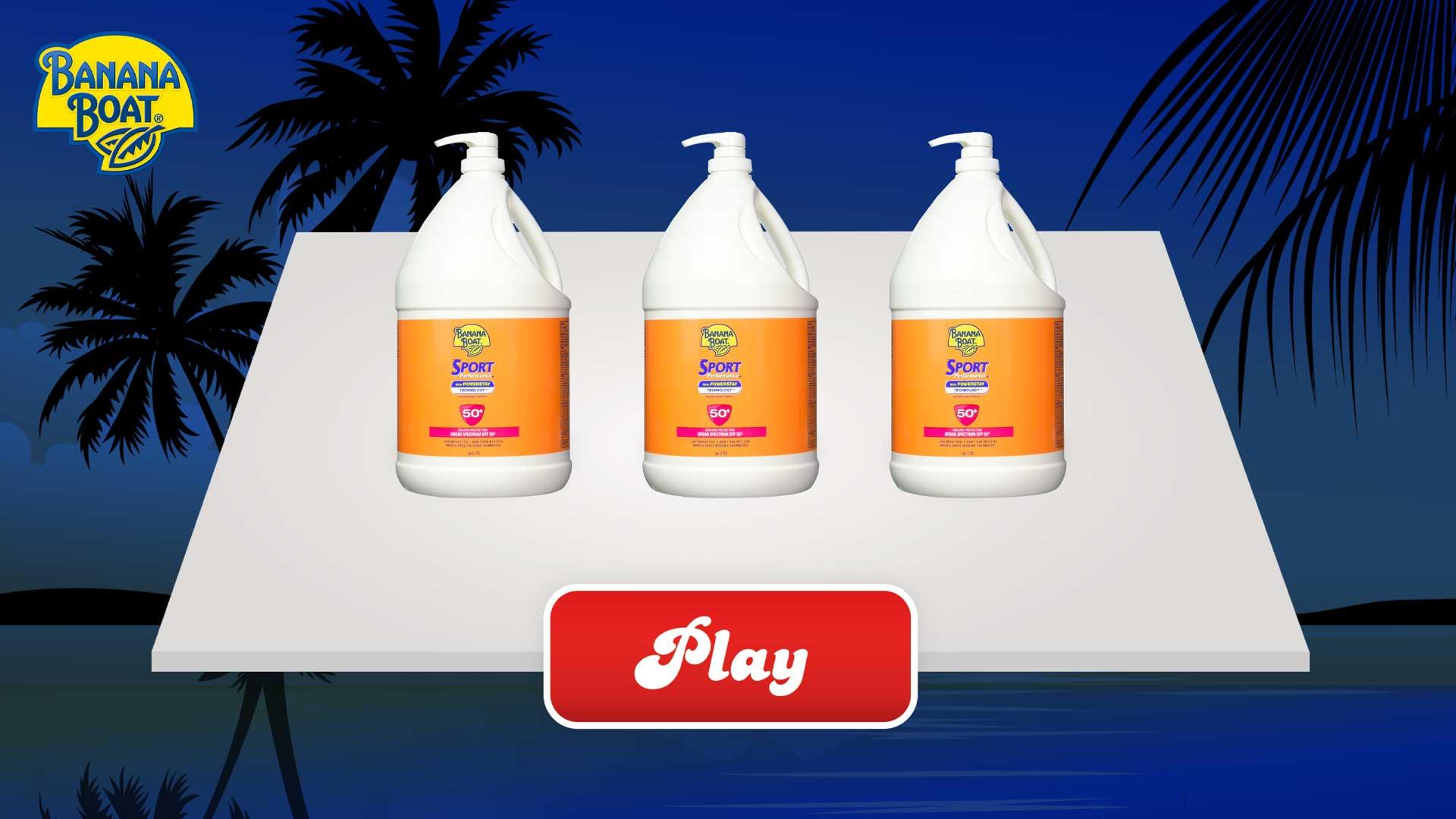 3 Cups Beach Theme | Captello