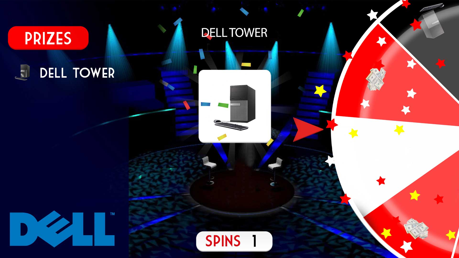 Dell Theme | Spin to Win