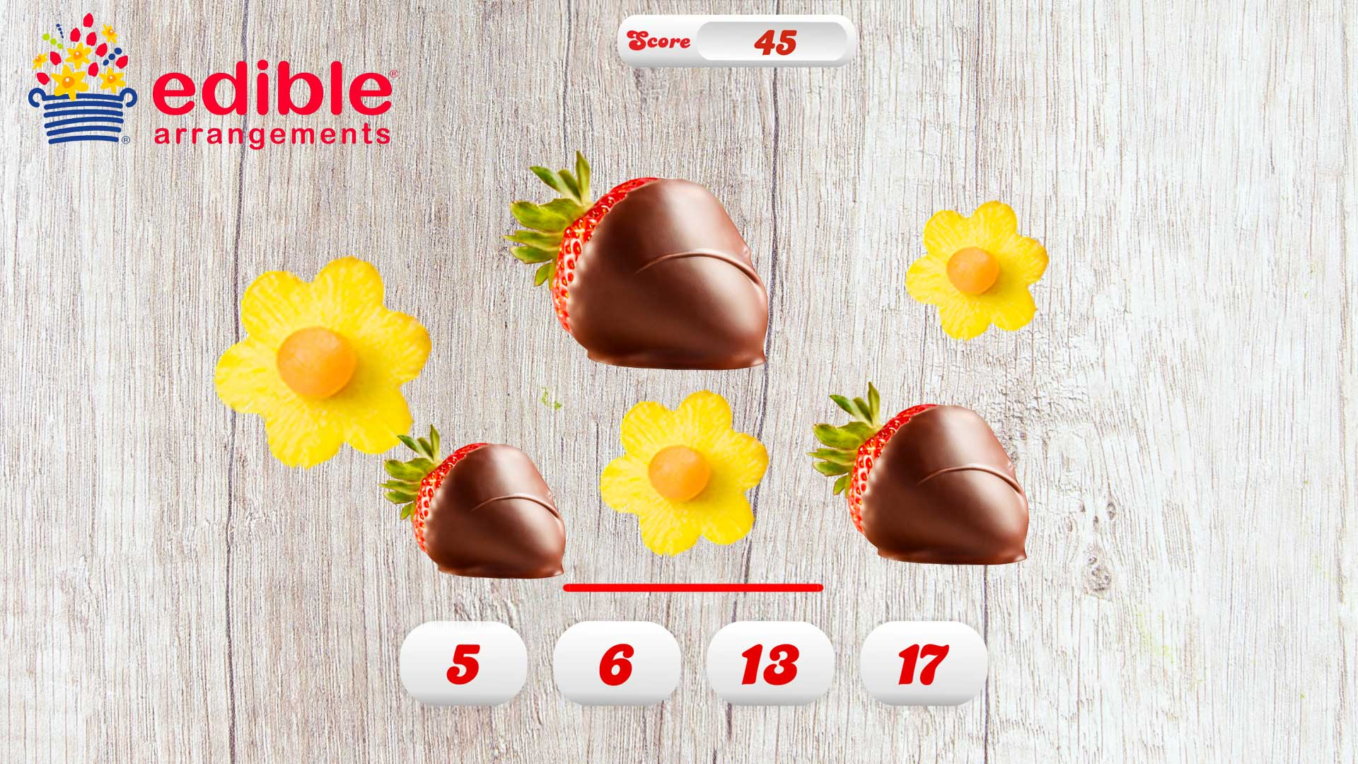 Guess How Many | Edible Arrangements Theme
