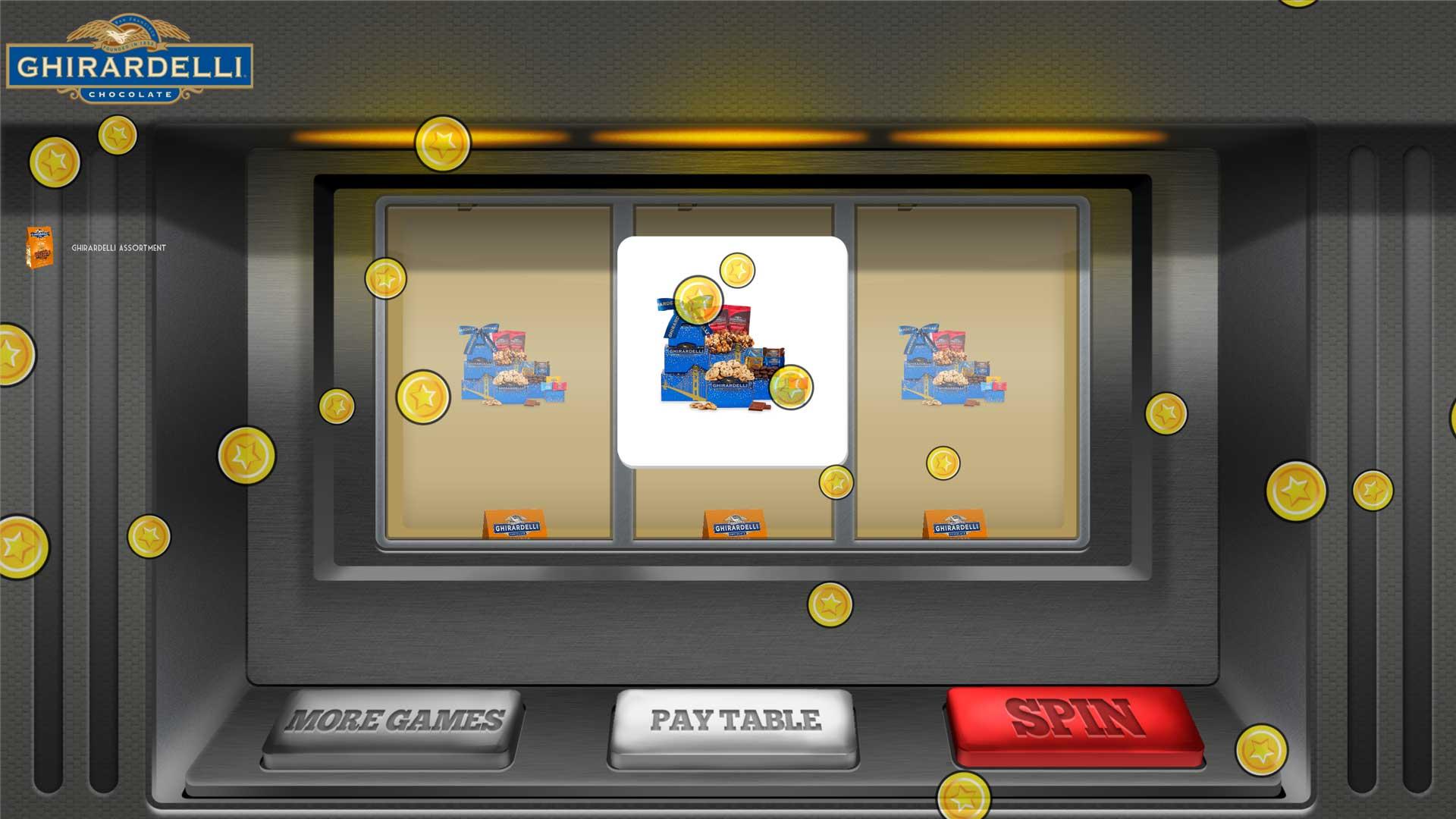 Slot Machine Game | Ghirardelli