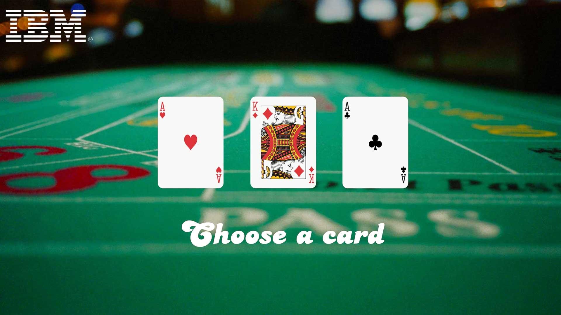 Three Cards | IBM Theme