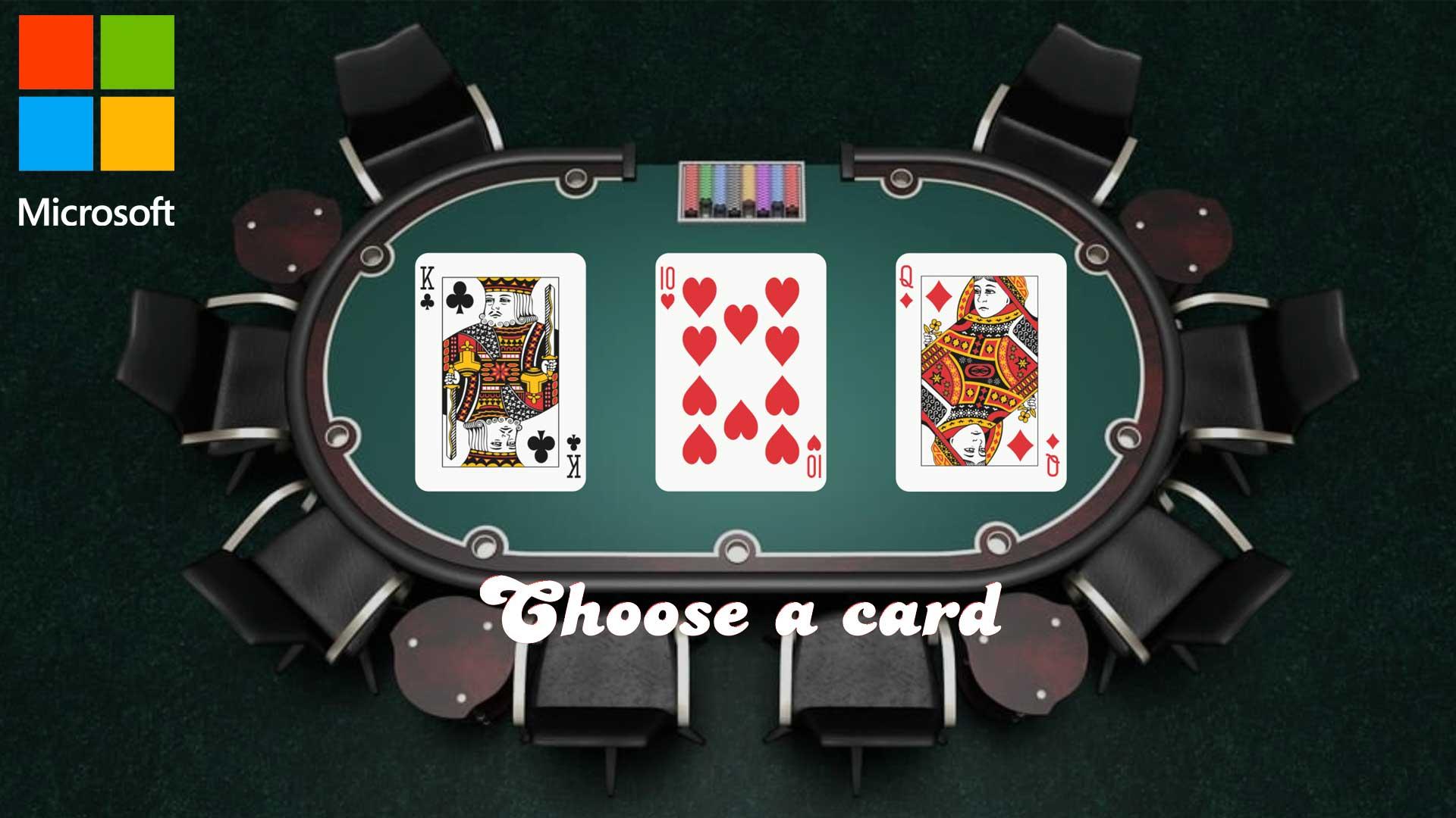 Three Cards | Card Table Theme