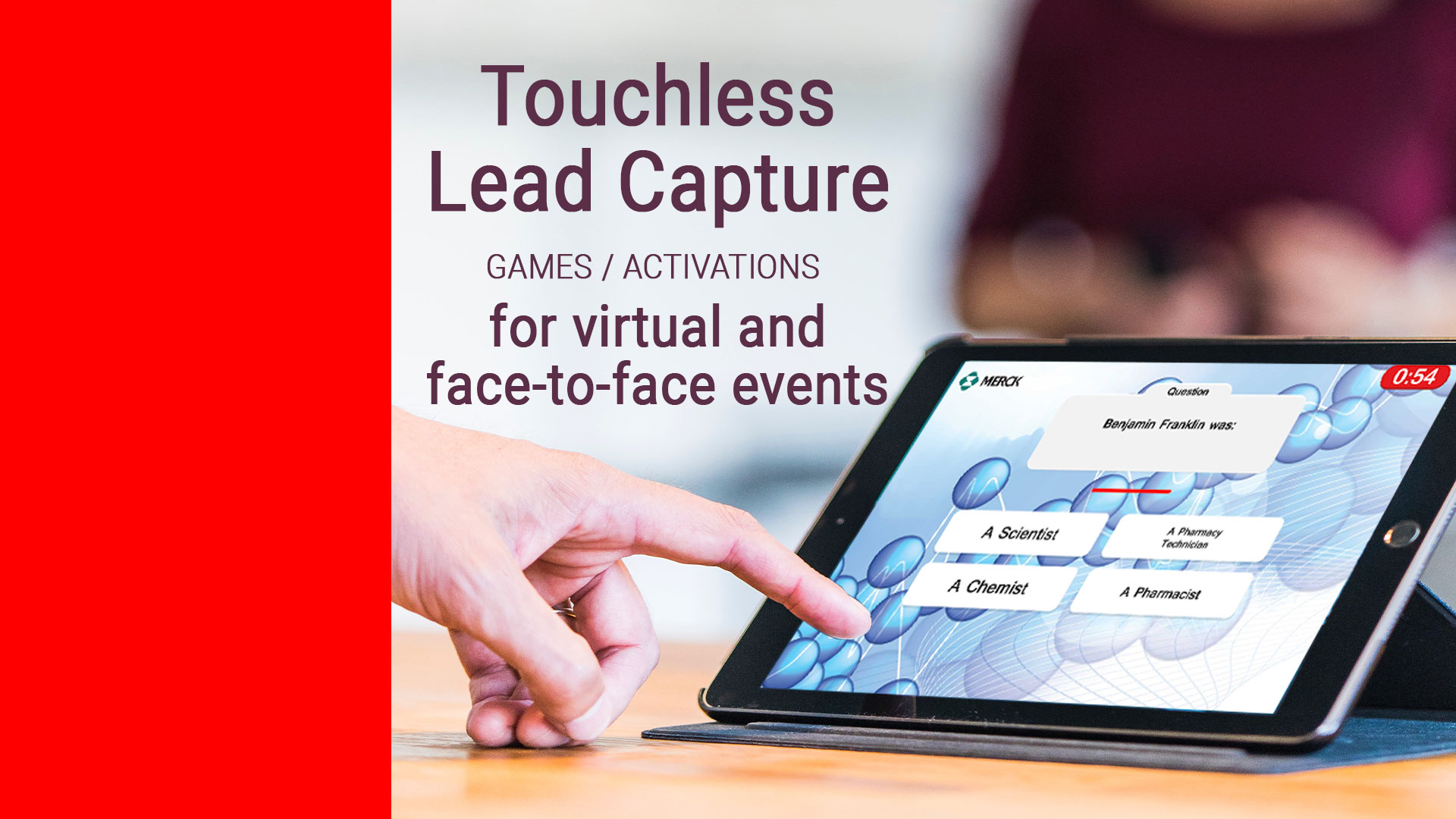 In response to the need for touchless exhibition experiences and with respect for social distancing, Captello has launched a variety of new interactive game experiences enabling exhibitors to address the health and safety concerns of virtual and live booth visitors while increasing engagement with products, brands and solutions.