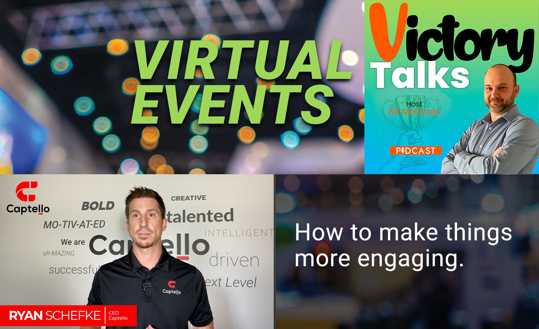 With many events going virtual, exhibiting has changed dramatically. Exhibitors need new ways to engage & educate prospects about products and solutions. Discover emerging tools that are taking virtual exhibiting & digital marketing to the next level.
